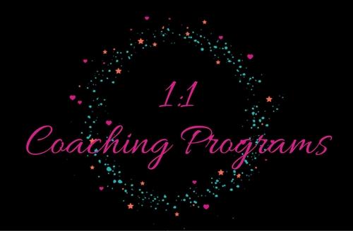 1:1 Coaching Programs